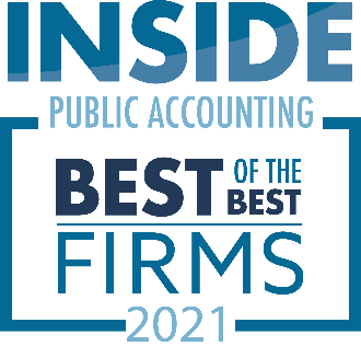 2021 Best of the Best Firms Logo