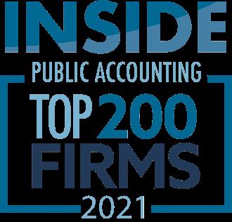 2021 Top 200 Firms Logo